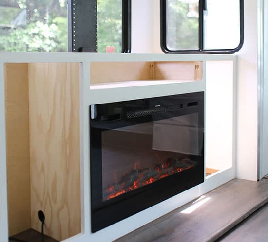 installing-tv-lift-and-electric-fireplace-inside-motorhome-mountainmodernlife.com