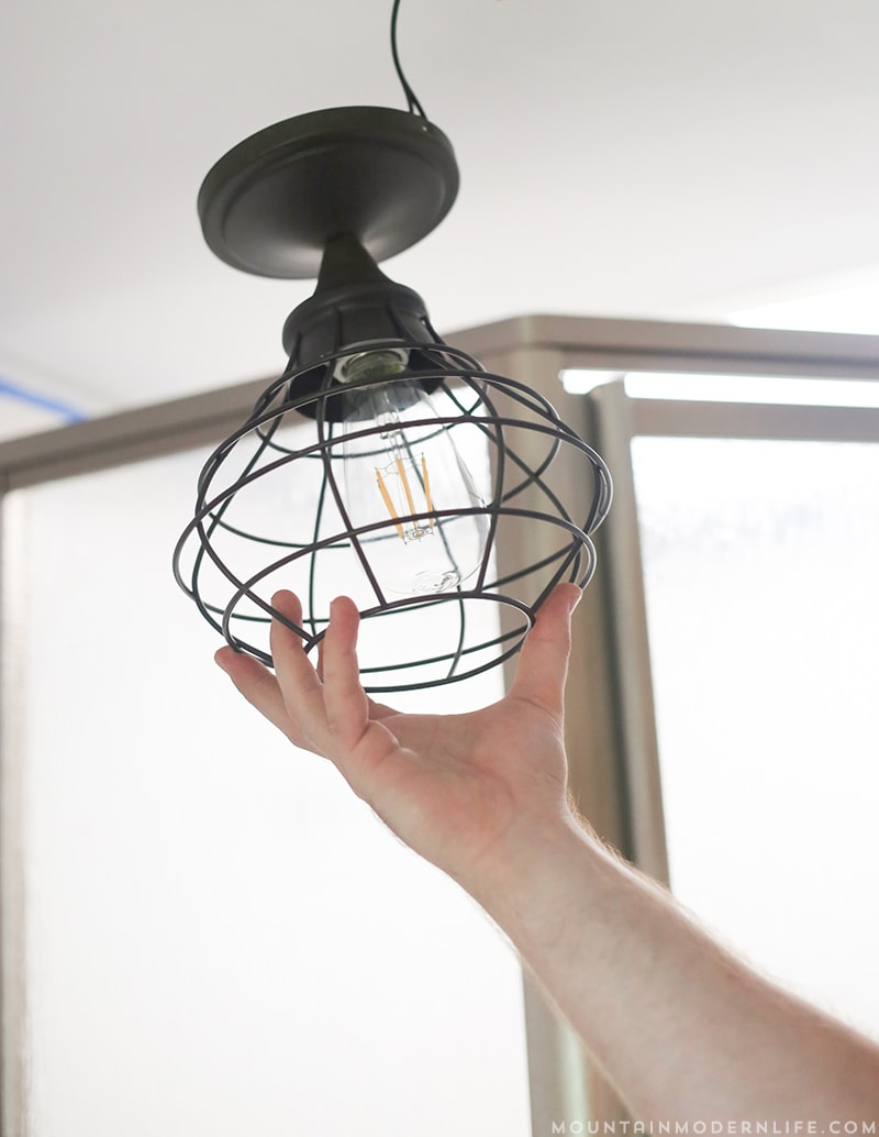Want To Replace Those Old Light Fixtures In Your Motorhome With Updated RV  Interior Lighting?