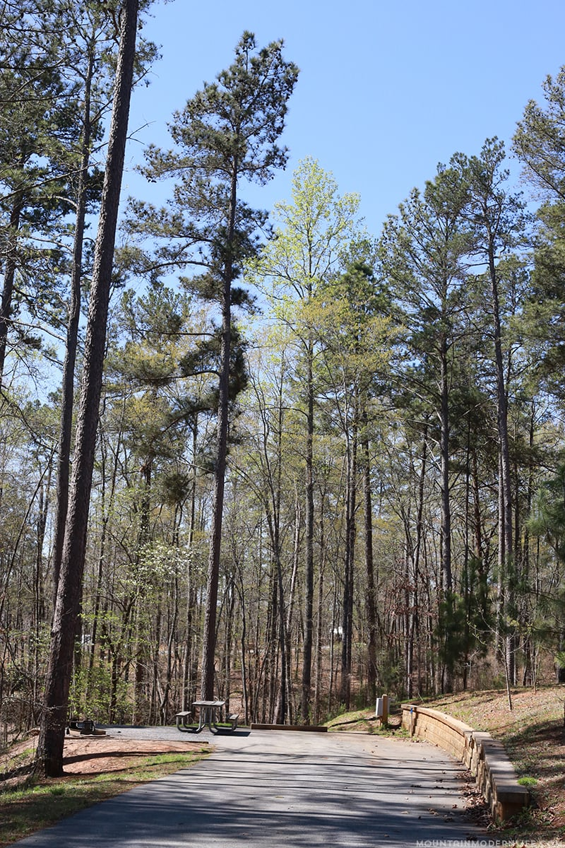 Are you looking for places to park your RV in Northern Georgia? Check out our experience at Don Carter State Park to see if it's right for you.