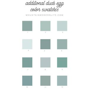 Color Swatch Samples