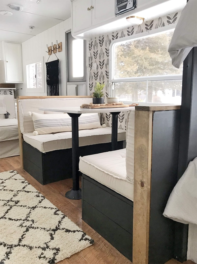 This Farmhouse Camper Was Transformed For 500 Mountain