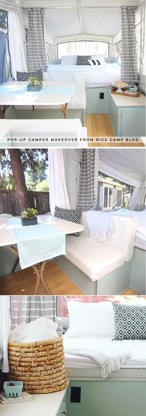 This Pop Up Camper Makeover Cost Less Than 200 Mountain