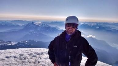 Atop Mt Baker