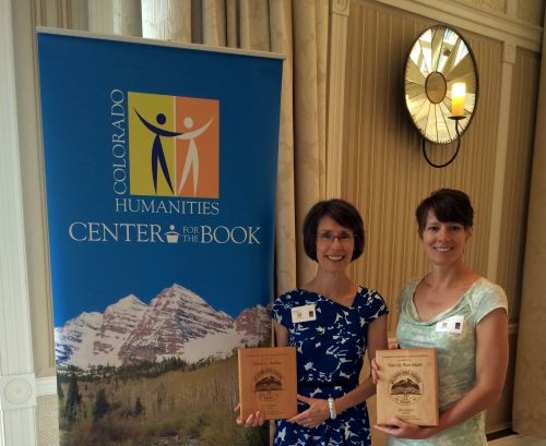 Erika Walker, left, and Wendy Rex-Atzet accepted our award at the Hotel Jerome in Aspen June 13th.