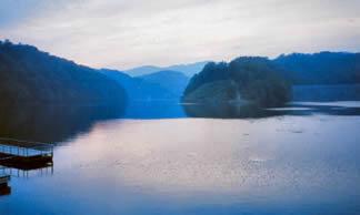 John Flannagan Dam and Reservoir, Dickenson County.? Photo by Kari Kilgore