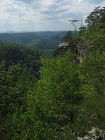 Breaks Interstate Park,? Dickenson & Buchanan counties.? Photo by Kari Kilgore