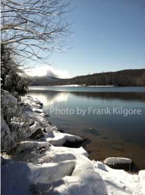 Hidden Valley Lake in Winter