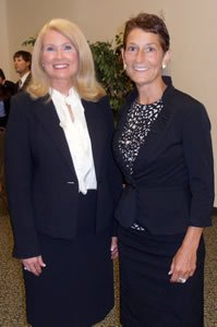 Judge Teresa Chafin and Judge Elizabeth McClanahan