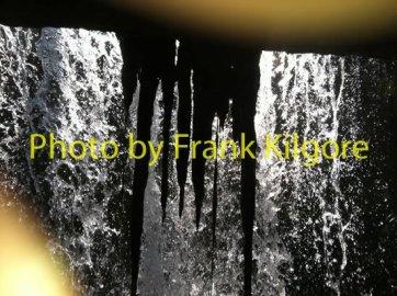 Behind Little Brumley Falls