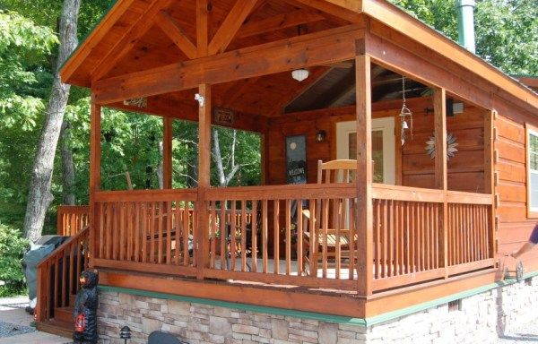 8′ Porch On Frame