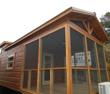 Shed Roof Porch w/Gunstock Stain | Mountain Recreation Log Cabins Gunstock Log Home Plans on steamboat plans, cannon plans, thumbhole stock plans,