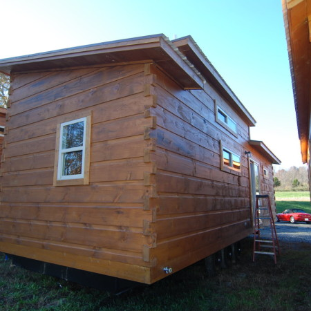 Shed Roof w/Gunstock Stain