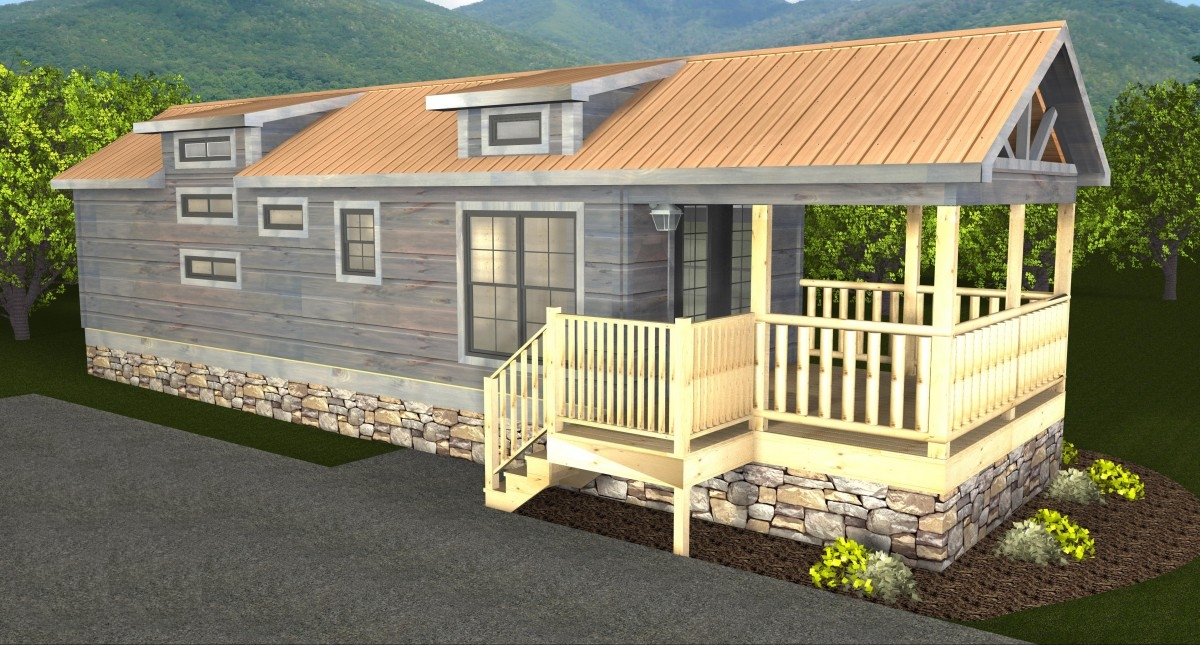 Park Model Log Cabins | RV Park Log Homes | Mountain Recreation Log
