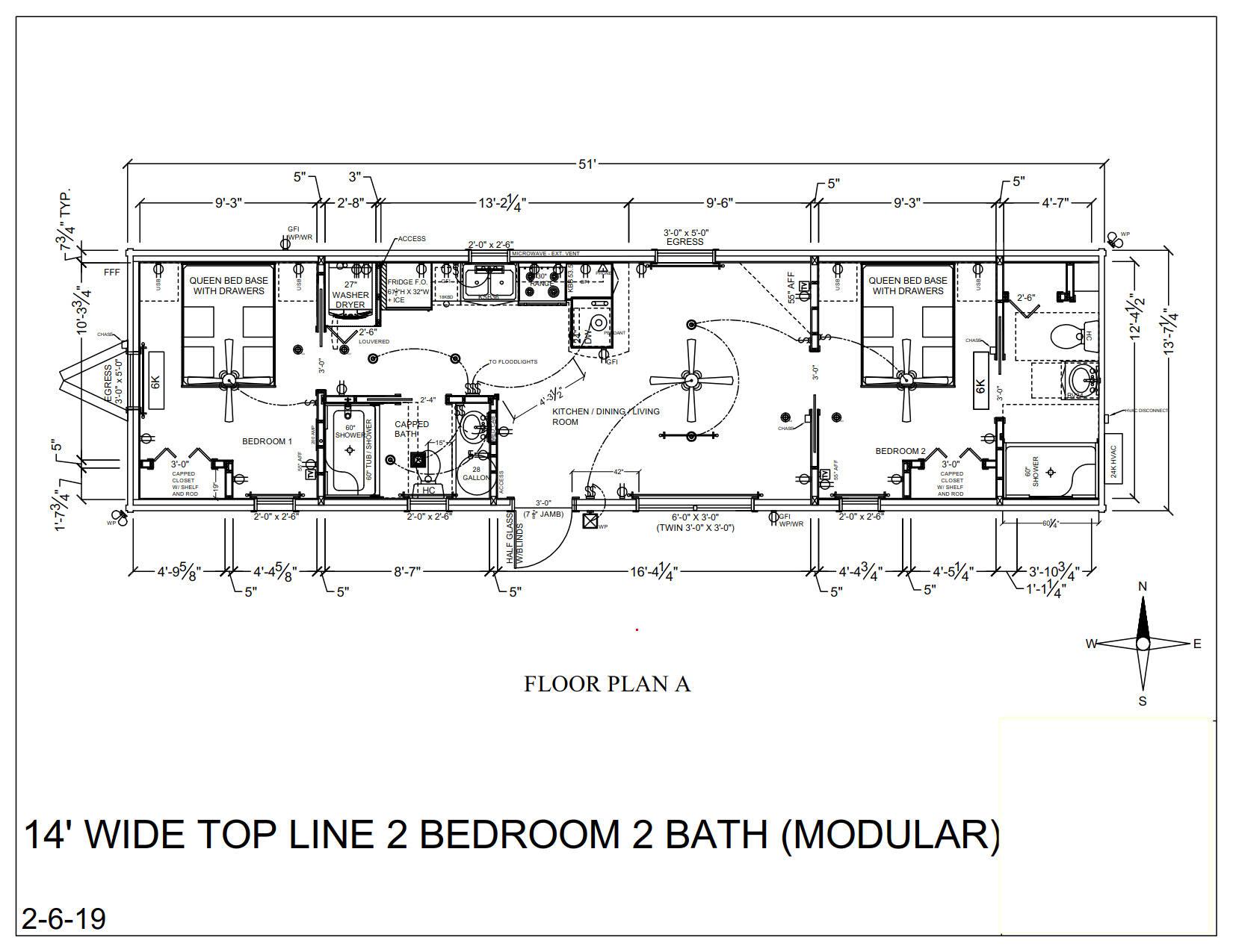 Modular Log Homes & RV Park Log Cabins Floor Plans NC ...
