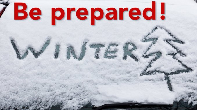 Image result for be prepared winter