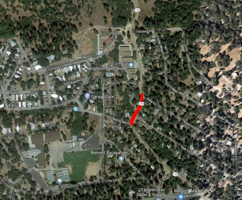 CalTrans Announces Emergency Closure for Highway 138 in VOE
