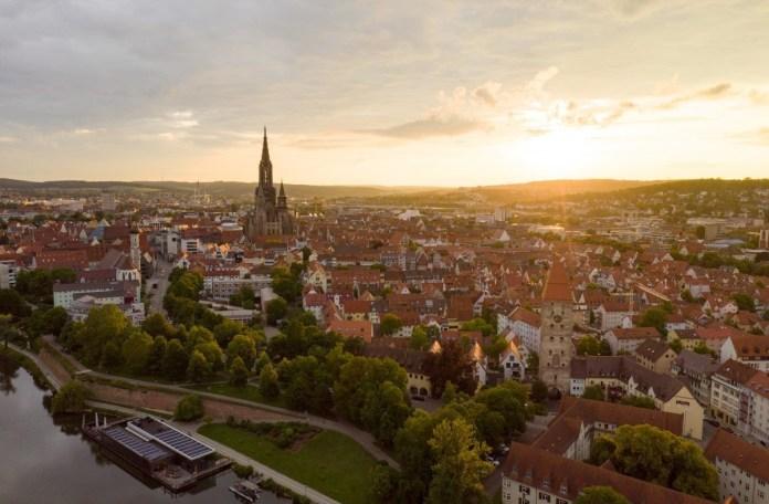 Zicht op Ulm. Foto: Lorenz Bee