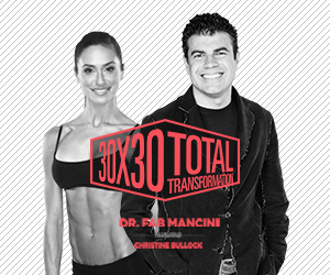 Total Transformation With Dr. Fabrizio Mancini And Christine Bullock