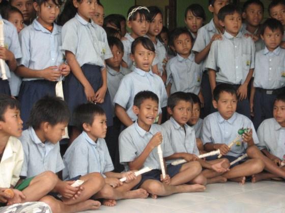 Bali School Children