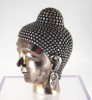 Sterling Silver Buddha