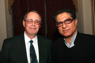 Deepak Chopra with Jerome Freedman