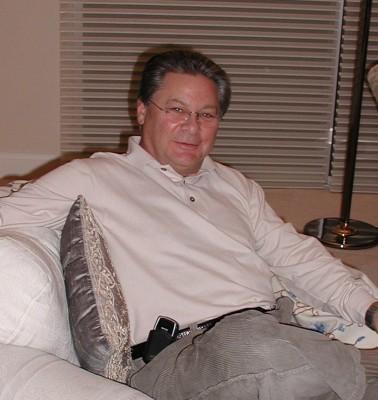 Dr. Martin Rossman in my Livingroom