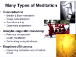 Many Type of Meditation