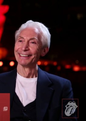 The Serene Face of Charlie Watts