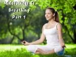 Mindfulness Meditation - Part 1