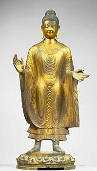 Standing Maitreya Buddha