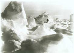 Erest Shackleton's epic Imperial Trans-Antarctic Expedition was captured by Endurance ship photographer Frank Hurley. Icescape, 14 January, 1915 © Royal Geographical Society