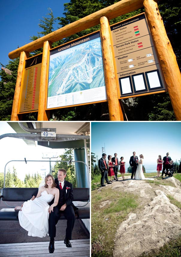 Grouse Mountain Wedding