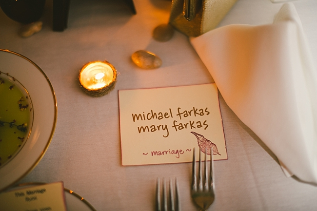 place settings | Hudson Valley NY Wedding | MountainsideBride.com
