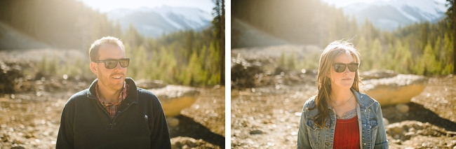 British columbia couple at a mountain engagement shoot by Nordica Photography