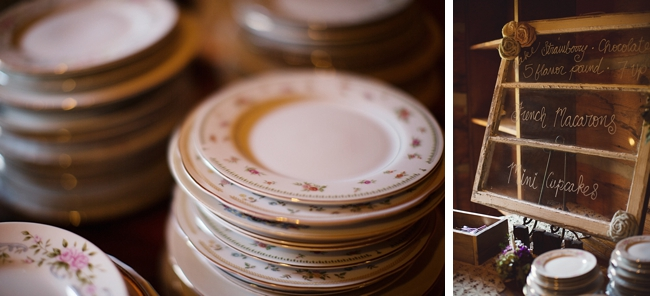 vintage cake plates rustic chic wedding via http://mountainsidebride.com