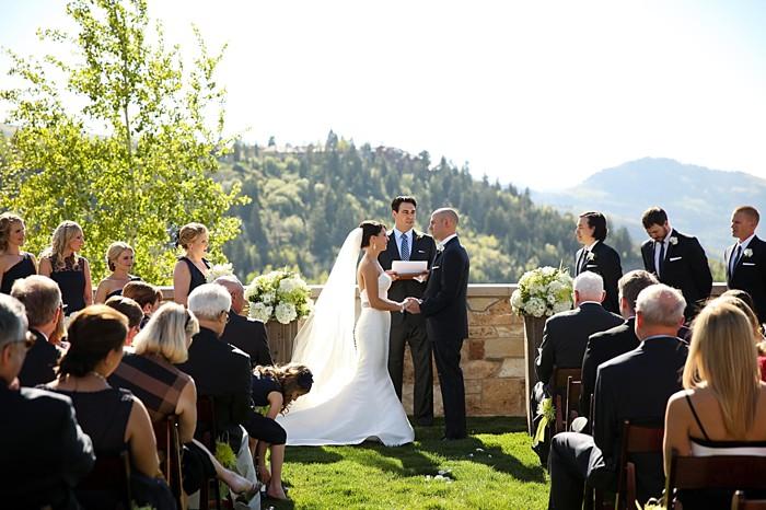 ceremony | Deer Valley Utah Wedding | Pepper Nix Photography