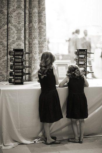 children at cake table | Deer Valley Utah Wedding | Pepper Nix Photography