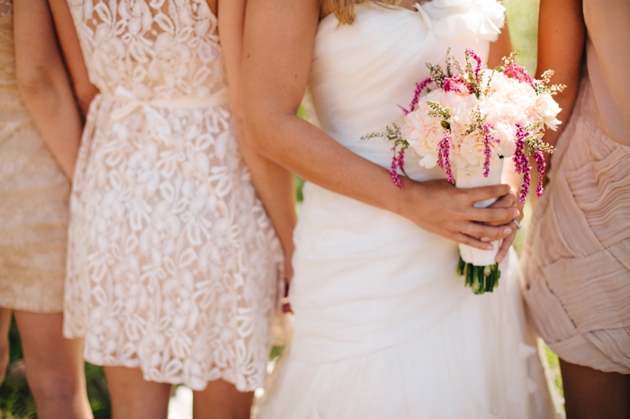 bouquet-and-bridesmaids-dresses-Park-City-Luxury-Home-Wedding