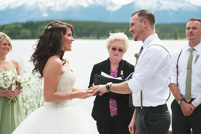 ceremony   Pyramid Lake wedding   Jarusha Brown Photography
