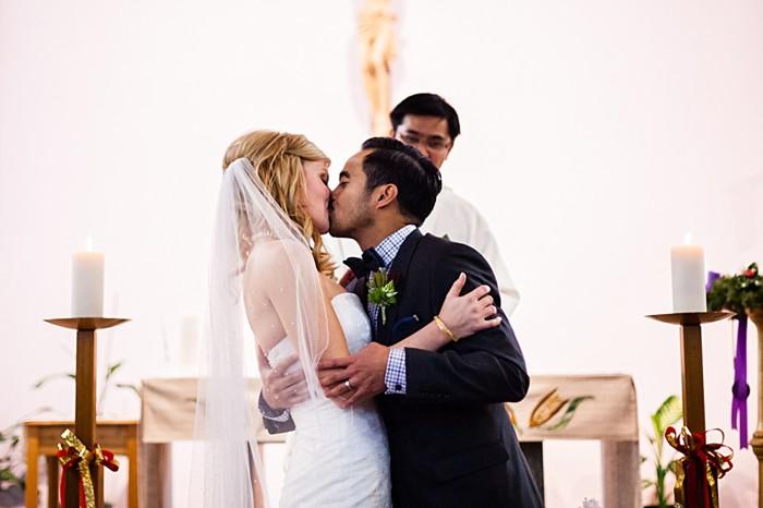 wedding ceremony | winter Revelstoke wedding | Christina Louise Photography