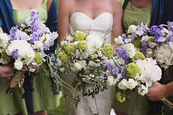 Adorable Handmade Wedding at Mast Farm