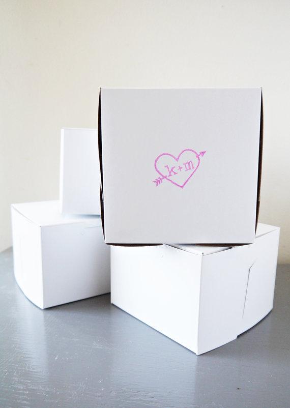 Custom Wedding Favor Box