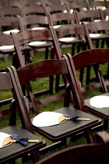 Ceremony Fans | Park City Utah Wedding | Pepper Nix Photography