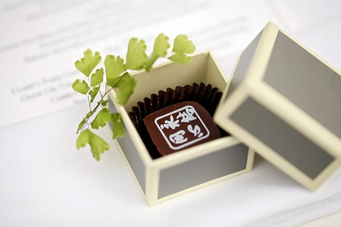 chocolate wedding favor ideas | Park City Utah Wedding | Pepper Nix Photography