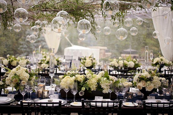 bubble wedding decor | Park City Utah Wedding | Pepper Nix Photography