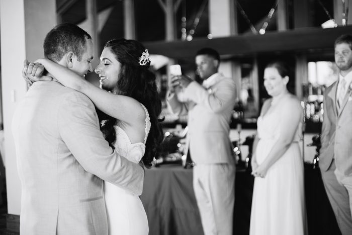 first dance | Lake Tahoe Wedding | Eric Asistin Photographer