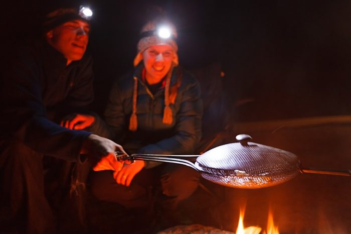 19 Camping Engagment Weekend | Bergreen Photography | Via MountainsideBride.com