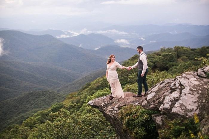 Enchanting Wedding Vow Renewal in Asheville