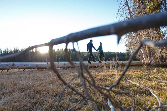 22 Camping Engagment Weekend | Bergreen Photography | Via MountainsideBride.com