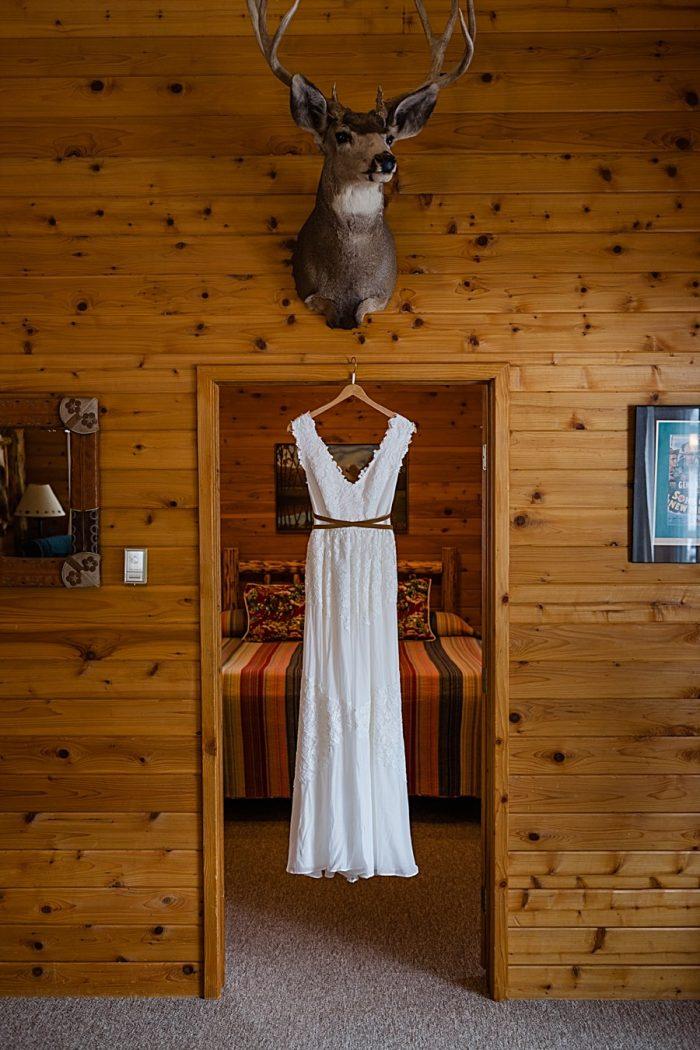 Deer Valley Ranch Colorado Wedding | Mary Brunst Photography | Via MountainsideBride.com